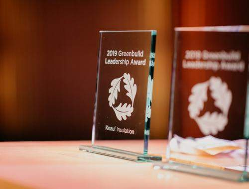 Green Build Leadership Award 2019 voor Knauf Insulation